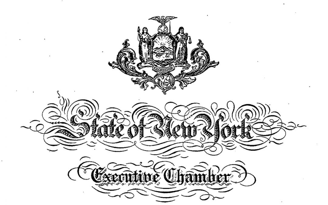 Governor Cuomo Signs Executive Order 202.55